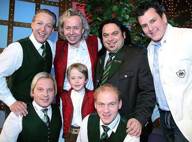 Gruppenfoto Volksmusik Wernesgrün